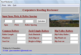 Roofing Ready Reckoner
