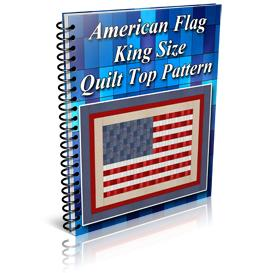 American Flag King Size Quilt Top Pattern | Other Files | Patterns and Templates