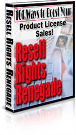 Resale Rights  Renegade | eBooks | Internet