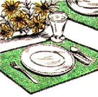 Quick & Colorful Placemats Crochet Pattern | eBooks | Arts and Crafts