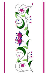 floral drink sleeves | Other Files | Arts and Crafts