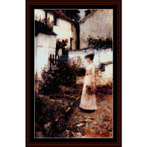 Gathering Summer Flowers - Waterhouse cross stitch pattern by Cross Stitch Collectibles   Crafting   Cross-Stitch   Wall Hangings
