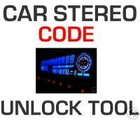 Car Stereo Radio Code UNLOCKER UNLOCK Software Tool