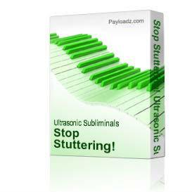 Stop Stuttering! Ultrasonic Subliminal Programming! NEW! | Music | Miscellaneous
