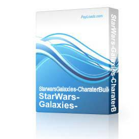 StarWars-Galaxies-CharaterBuilder | Software | Add-Ons and Plug-ins