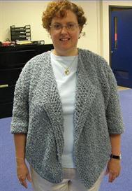 swing jacket pattern for knitting loom