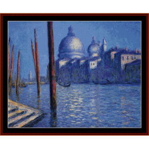 Grand Canal II - Monet cross stitch pattern by Cross Stitch Collectibles | Crafting | Cross-Stitch | Other