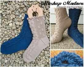 Mashup Madness Knit Sock Pattern | Other Files | Arts and Crafts