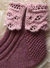 Summer Lace Anklets knitting pattern - PDF | Other Files | Arts and Crafts
