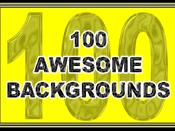 100 awesome backgrounds for download