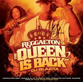dj blazita - reggaeton queen vol 2