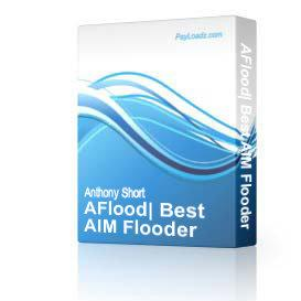 AFlood: Best AIM Flooder | Software | Utilities