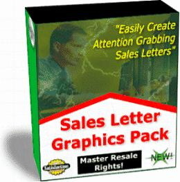 Sales Letters Graphics Packs1 | Other Files | Patterns and Templates