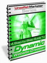 Dynamic Website Creation | eBooks | Internet