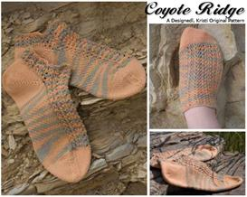 Coyote Ridge Knit Anklet Pattern | Other Files | Arts and Crafts