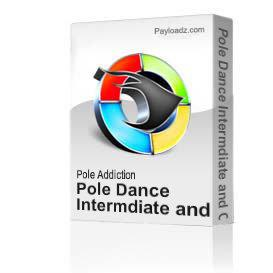 pole dance intermdiate and combination spin class
