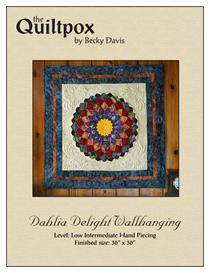 Dahlia Delight Wallhanging | Other Files | Patterns and Templates