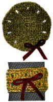 Crochet Coaster & Napkin Ring Set | eBooks | Arts and Crafts