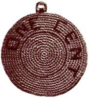 Lucky Penny Pot Holder Crochet Pattern | eBooks | Arts and Crafts