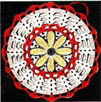 Sunflower Pot Holder Crochet Pattern | eBooks | Arts and Crafts