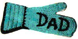 Dad's Barbecue Mitt Crochet Pattern | eBooks | Arts and Crafts