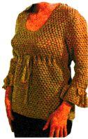 Empire Waist Blouse Crochet Pattern | eBooks | Arts and Crafts