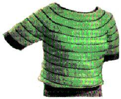 Boat Neck Blouse Crochet Pattern | eBooks | Arts and Crafts