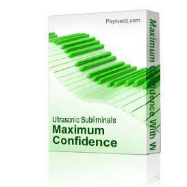 Maximum Confidence With Women Subliminal Download | Music | New Age