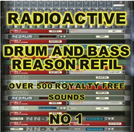 Radioactive Drum And Bass Reason Refill | Music | Soundbanks