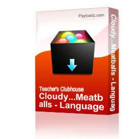 cloudy...meatballs - language