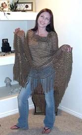 'Moon Song' Crochet Poncho PATTERN | eBooks | Arts and Crafts