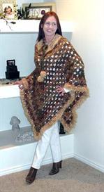 'Eskimo' Poncho Crochet PATTERN | eBooks | Arts and Crafts
