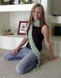 'Water Lilies' Crochet Scarf PATTERN | eBooks | Arts and Crafts