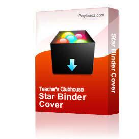 Star Binder Cover | Other Files | Arts and Crafts
