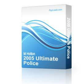 2005 ultimate police & bailiff auction ebook