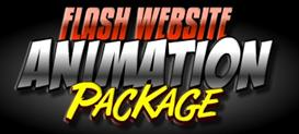 flash website animation package