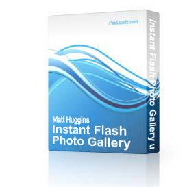 Instant Flash Photo Gallery using PHP | Software | Internet