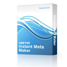 Instant Meta Maker | Audio Books | Internet