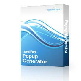 Popup Generator   Software   Business   Other