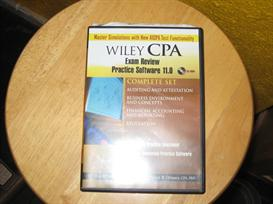 wiley CPA Exam Review Practice Software 11.0