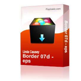 Border 07d - eps | Other Files | Clip Art