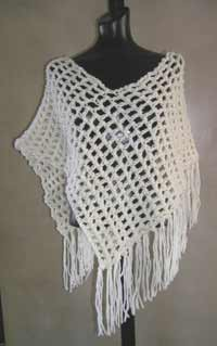 #26 Chunky Crochet Poncho PDF Pattern from SweaterBabe.com ...