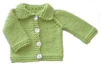 #15 Chunky Cotton Baby Cardigan PDF Pattern from SweaterBabe.com | Other Files | Arts and Crafts