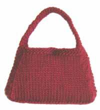 #19 Hip Knit Purse PDF Pattern from SweaterBabe.com | Other Files | Arts and Crafts
