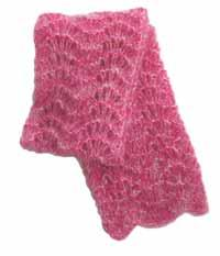 #23 Mohair Lace Scarf PDF Pattern from SweaterBabe.com | Other Files | Arts and Crafts
