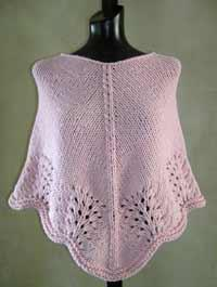 #28 Scalloped Edge Poncho PDF Pattern from SweaterBabe.com | Other Files | Arts and Crafts