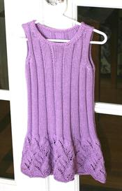 Wisteria Child's Sleeveless Dress | Other Files | Arts and Crafts