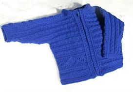 Oliver Child's Zip-Front Cardigan Pattern | Other Files | Arts and Crafts