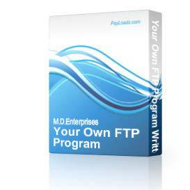 9YourOwnFTPProgramWrittenInPHP | Software | Internet