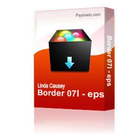 Border 07l - eps | Other Files | Clip Art